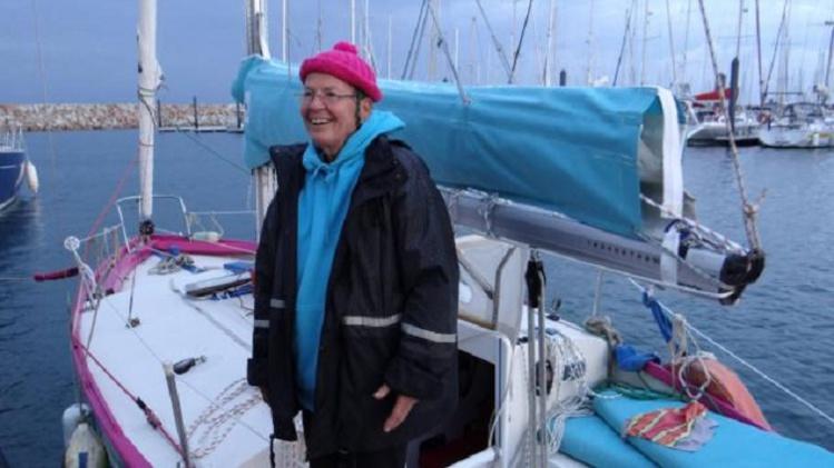 Portrait 1 – Birgit HABELT, une septuagénaire dans le vent!